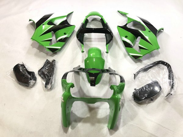 Fairing Bodywork Panel Kit Set Fit For Kawasaki Ninja ZX6R 2000-2002 ZX-6R 01