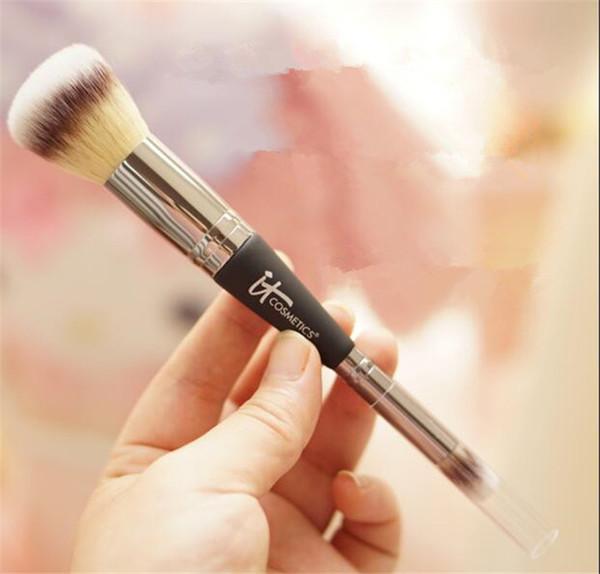 top popular Brand Professional Makeup blush Brushes it cosmetics brush COMPLEXION PERFECTION BRUSH make up contour brush kit pinceis maquiagem A145 2021