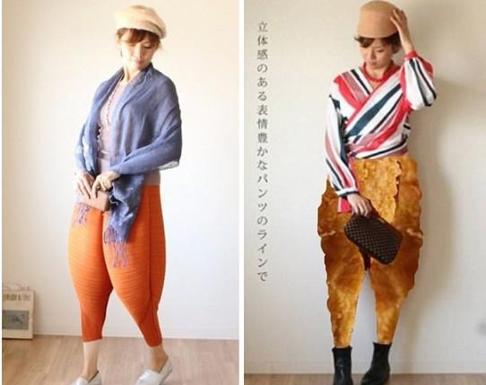 Fried Chicken Pants Autumn Europe Style New Elastic Waist Loose Harem Women Light Weight Polyster Capris Pants S-4XL Plus size