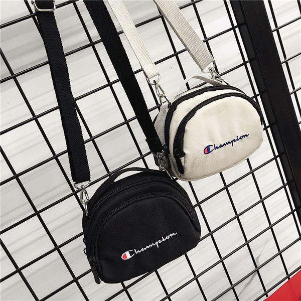 Embroidery Champions Letters Messenger Bags Single Shoulder Crossbody Bag Travel Fanny Pack Shopping Backpacks Belt Packs Waist Bags C492