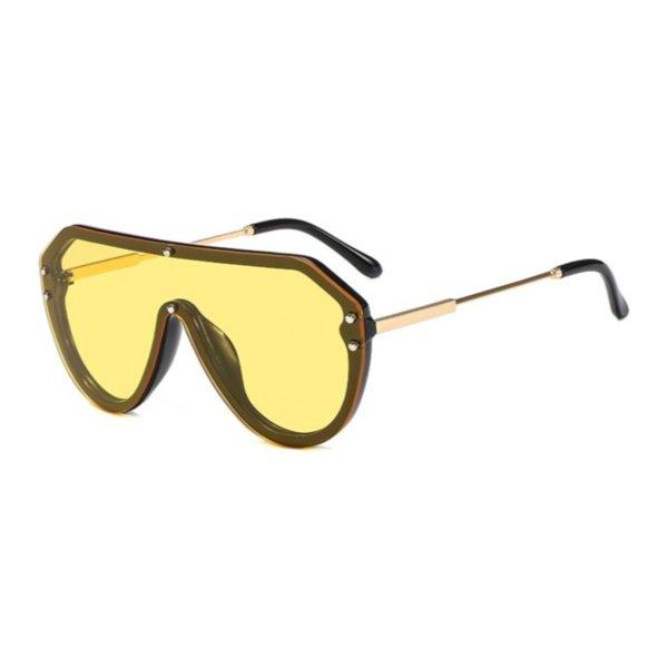 Color de los lentes: negro amarillo