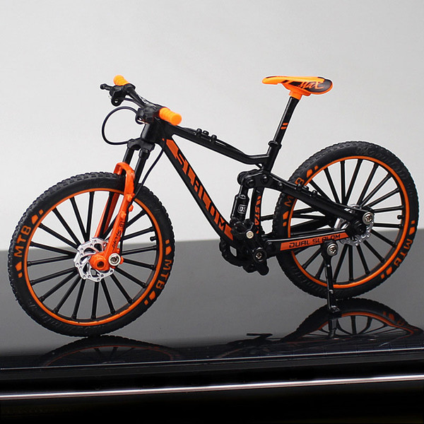 Downhill Mountain Bike Orange