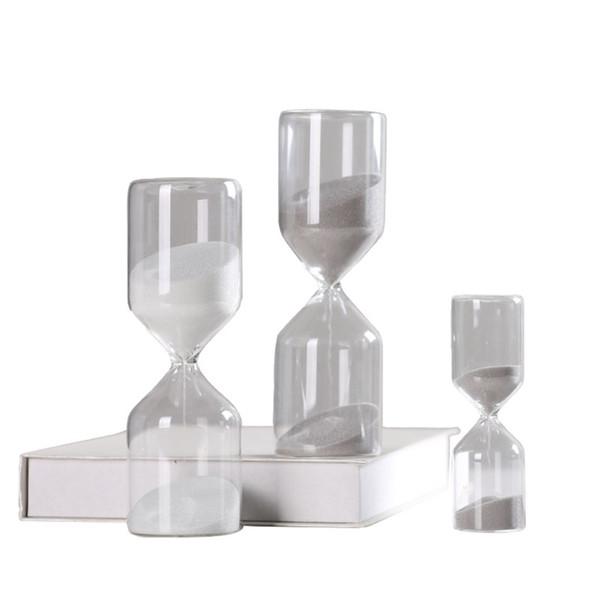 Tempo Ampulheta Temporizador Enfeites Casa Europeia Sala de estar Decoração Do Armário de Vinho Personalidade Criativa Presentes de Mobiliário Sandglass