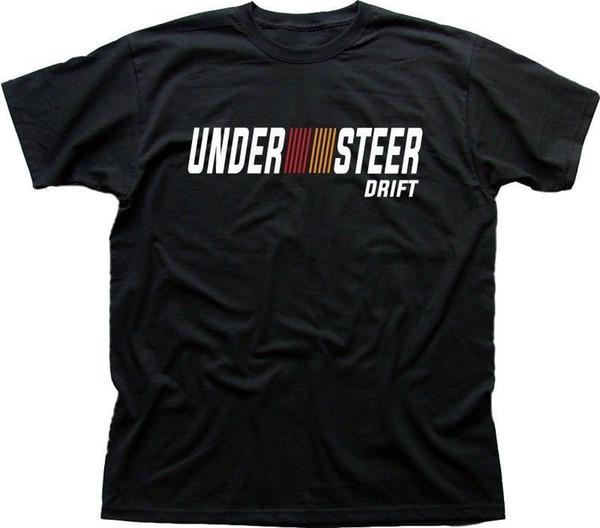 Mitsubishi Ralliart ha ispirato UNDERSTEER DRIFT EVO Car nero t-shirt nera Taglia Discout Hot New Tshirt Suit Hat rosa T-shirt