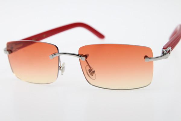 Gümüş Turuncu Kırmızı Lens