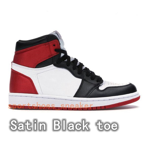Satin Black toe