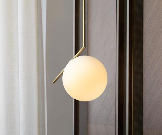 LED E27 Anillo de Oro Arte Cocina Comedor Bar Luces Colgantes para Dormitorio Muebles de Iluminación de la Lámpara Colgante Accesorios Luminaria