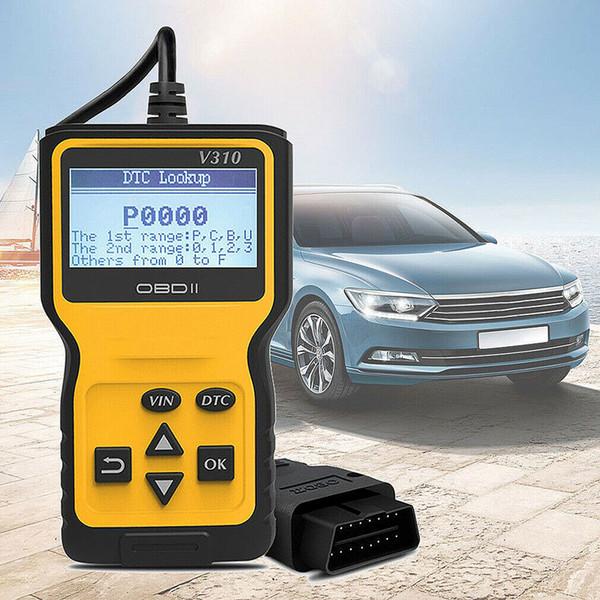 Outil de diagnostic de lecteur de code de moteur de voiture de scanner de Viecar V310 OBD2 multi-langages universel odb 2 odb2 scanner automobile
