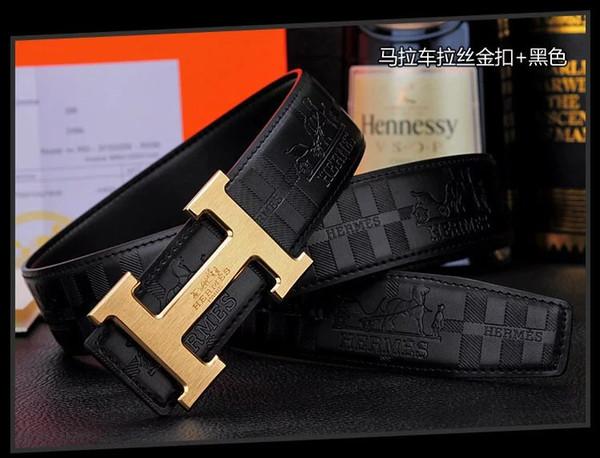 2019 hombres y mujeres Cinturones de Diseño Hombres de Alta Calidad Masculina de cuero genuino Casual de Negocios Hebilla Correa para Jeans ceinture