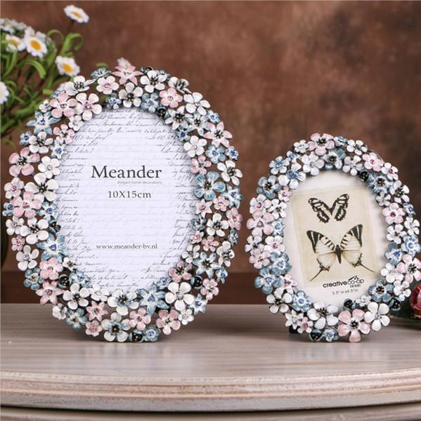 Luxus Metall hochwertige Bilderrahmen Hochzeit Bilderrahmen für Wandbehang oder Tabletop Display Jubiläum Geburtstag Anlässe schönes Geschenk
