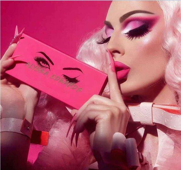 Hot marca paleta de maquiagem Alyssa Edwards paleta da sombra Cosméticos de boa qualidade 14 Cores Eye Shadow dhl frete grátis