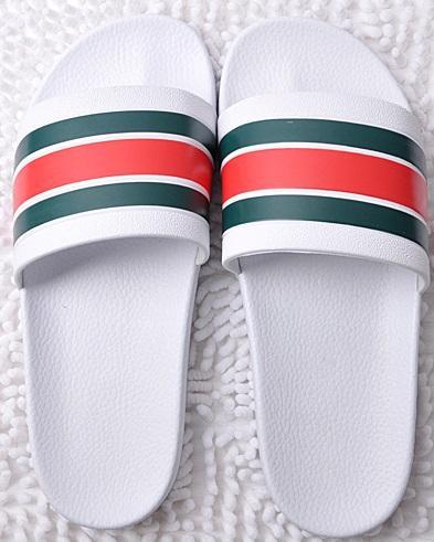 supportsport / Hombres Mujeres huaraches Sandalias Zapatos de diseño Deslizamiento de lujo Desgastes de verano Ancho plano Resbaladizo Con gruesas sandalias de dis