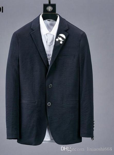 2019windbreaker chaqueta para hombre para hombre chaquetas de diseño Período de primavera y otoño y la chaqueta doble para la moda de ocio Chaquetas de abrigo Ropa de Hombre32