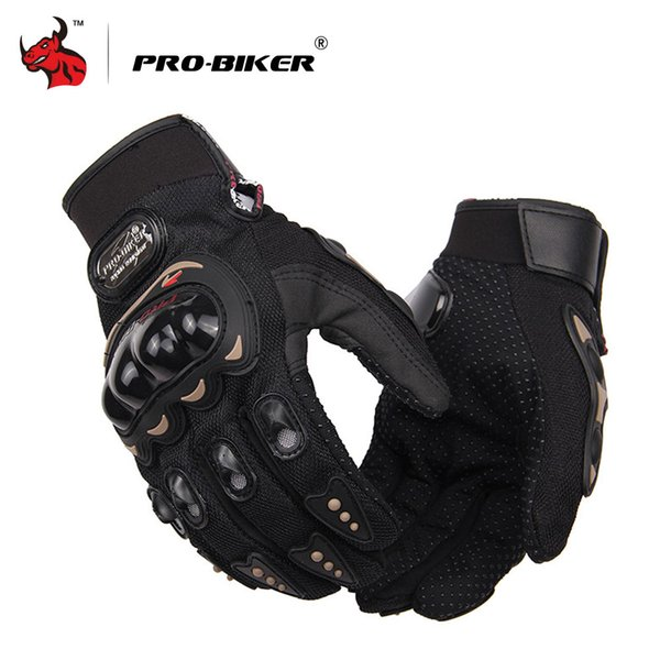 guantes PRO-BIKER Motorcycle Men Full Finger Riding Motorbike Moto Gloves Motocross Guantes Gloves M-XXL