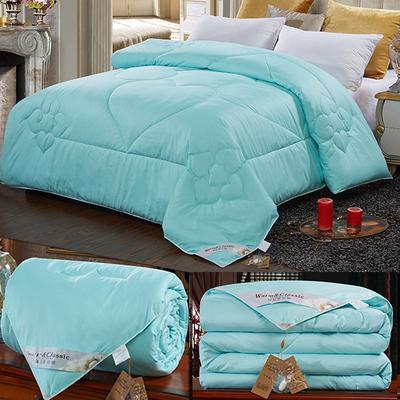 Doudoune hiver matelassée Couette king queen double taille complète édredon / couverture / Doona / Duvet blanc / rose couleur 100% coton 2KG