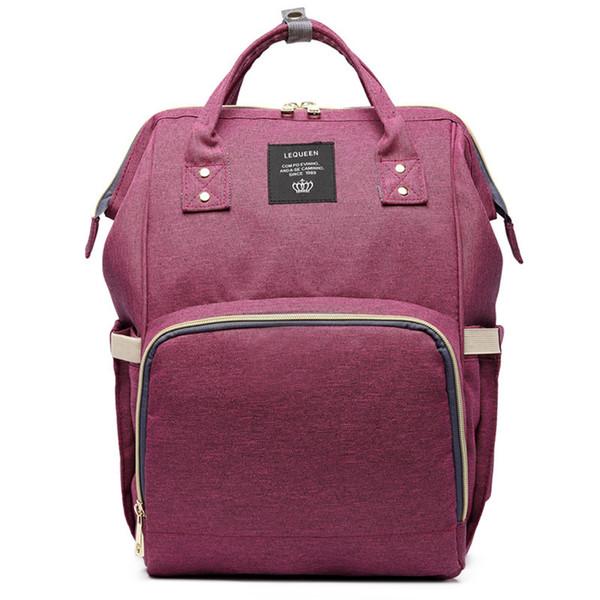 Purple Mummy Bags