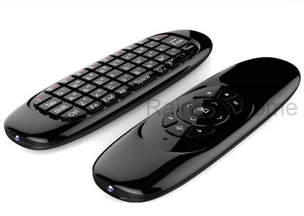 Voar Air Mouse Mini Teclado QWERTY Sem Fio Controlador de Jogo de Controle Remoto Para Android TV Set Top Box Mini PC 6 Giroscópio Q3 atacado