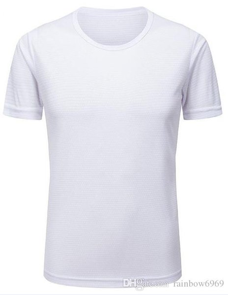 2019 men's tight clothes running short-sleeved quick-drying T-shirt 5138