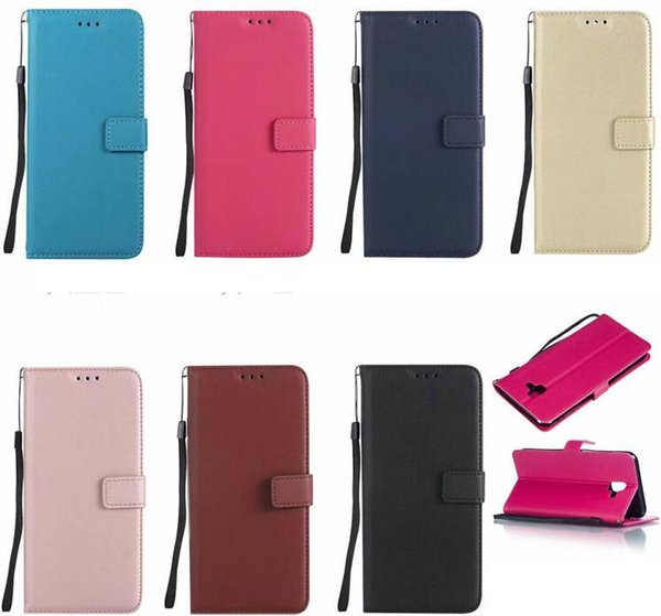 Sheep Leather Wallet Case For Galaxy S9 S8 (J2 Pro A7 J6 J4 A6 A8 Plus) 2018 Stylish Fashion Luxury Card ID Slot Magnetic Phone Flip Cover