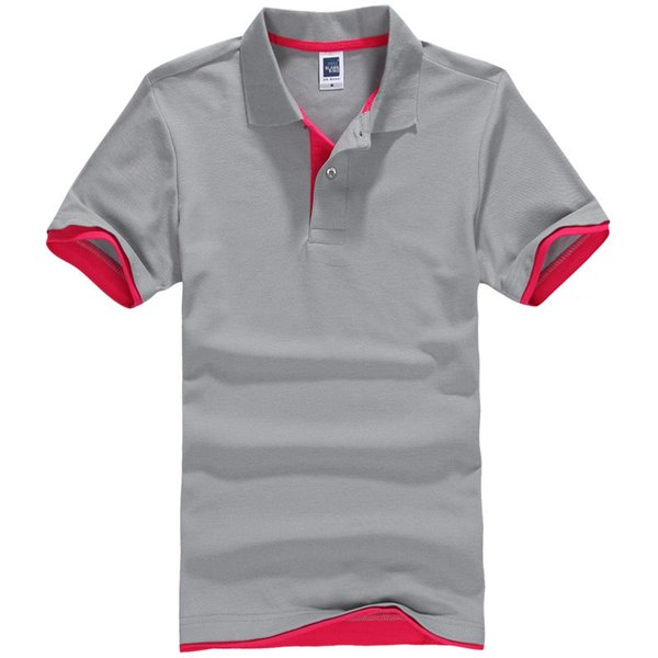 Brand Clothing New Men Polo Shirt Men Business & Casual Solid Male Polo Shirt Short Sleeve Breathable Polo Shirt