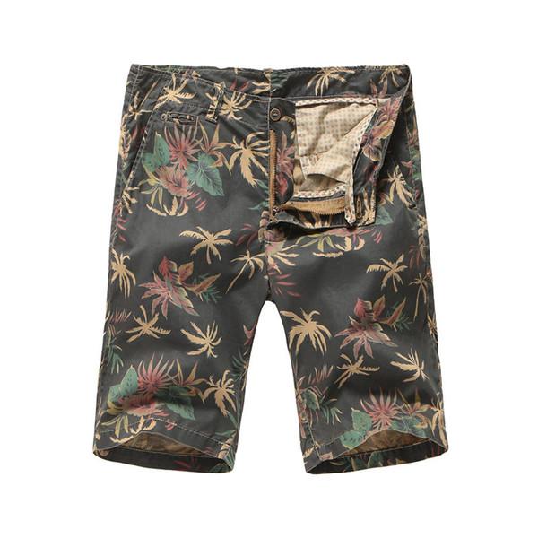 Mens Shorts Verão Marca Casual Breathabe Calções de Camuflagem Calças Calças Corredores Impresso Shorts Ativos Tamanho Asiático