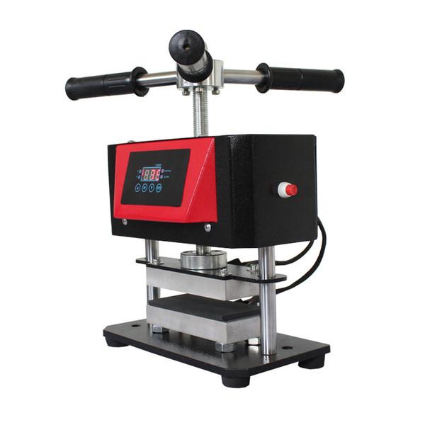 Best Small Rosin Press Machine AP1907 2ton heat press 600W dual heated Press Plates portable oil wax extracting tool DHL free