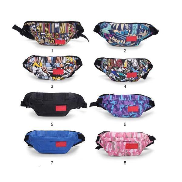 best selling waist bag print Sletter sport men and women travel bag fanny pack celular belt chest bag running phone purse sport outdoor