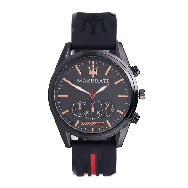 Premium Kuvars İzle Erkekler Kadınlar maserati Silikon Çelik Saatler Relojes Hombre Horloge Orologio Uomo Montre Homme SPROT IZLE