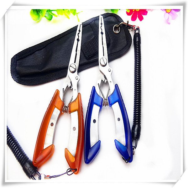 Fishing Multi Function Tools Fishing Pliers Stainless Steel Scissors Cutter Remover Outdoor Activities Gifts Household Items Practical