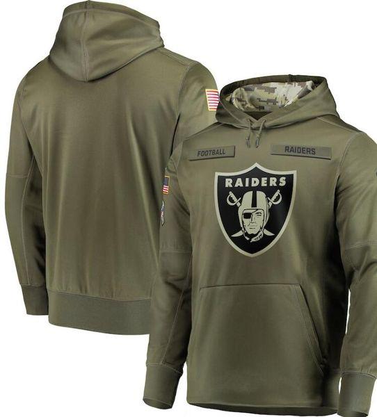 best selling men Pittsburgh Oakland Philadelphia Los Angeles Sweatshirt Hoody Camo Salute to Service Sideline Therma Performance Pullover Hoodie Olive 01