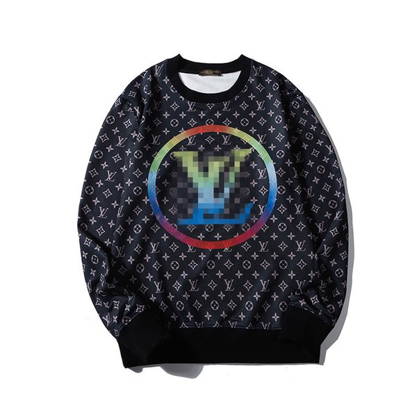 Brand Sweatshirts Mens Designer Hoodie FullSleeve Full Floral Classic Big Logo Pullover Streetwear Hiphop Casual High Luxury Jacket B100079L