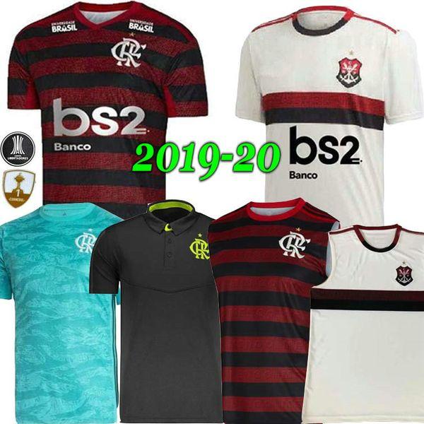 19 20 maglia flamengo 2019 2020 fiamminga DIEGO GUERRERO VINICIUS JR Maglie calcio GOLEIRO Flamengo GABRIEL B sport calcio uomo donna shir