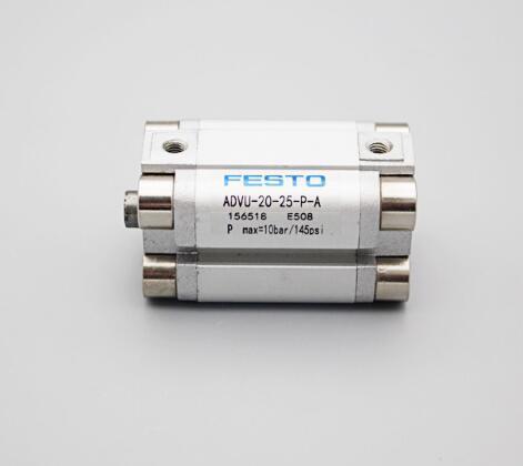 Qtd 5 Por Lote Original FESTO Compact Cilindro ADVU-20-25-P-A Novo Na Caixa Frete Grátis Expedido