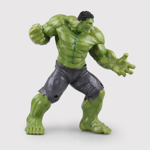 Hulk action toy modelo figrue super hero The Avengers 22.5 cm PVC pintado coleção figuras brinquedos crianças presente F7391