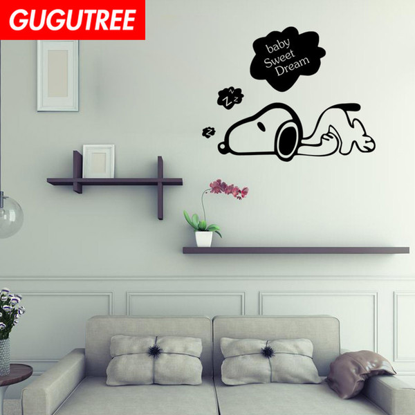 Decorate Home dogs cartoon wars art wall sticker decoration Decals mural painting Removable Decor Wallpaper G-2228
