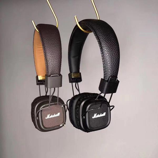 Marshall Major II 3.0 2.0 Bluetooth-Kopfhörer mit tiefem Bass Geräuschisolation Kopfhörer DJ-Monitor-Kopfhörer-Kleinkasten
