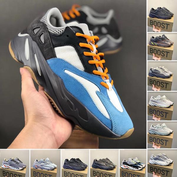 2019 corridore dell'onda 700 V2 Mens Running Shoes Geode Statico Mauve sale solido scarpe da ginnastica grigi inerzia delle donne di sport pattini di modo con la scatola jv8411