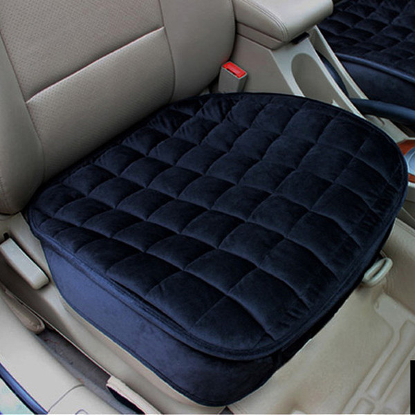 flocking cloth not moves car seat cushions non slide auto seat cushion universal keep warm winter car accessories cover
