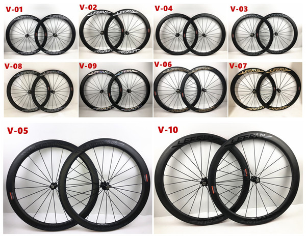 LEERUN 700C straight pull 38mm 50mm 60mm carbon tubular bike wheels 25mm width carbon road racing bicycle wheelset with R36 hub