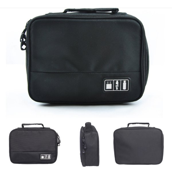 Portable Cable Bag Phone Accessories Power Bank HDD Data Cable Organizer Bag Home Organizer Case Empty Travel Storage