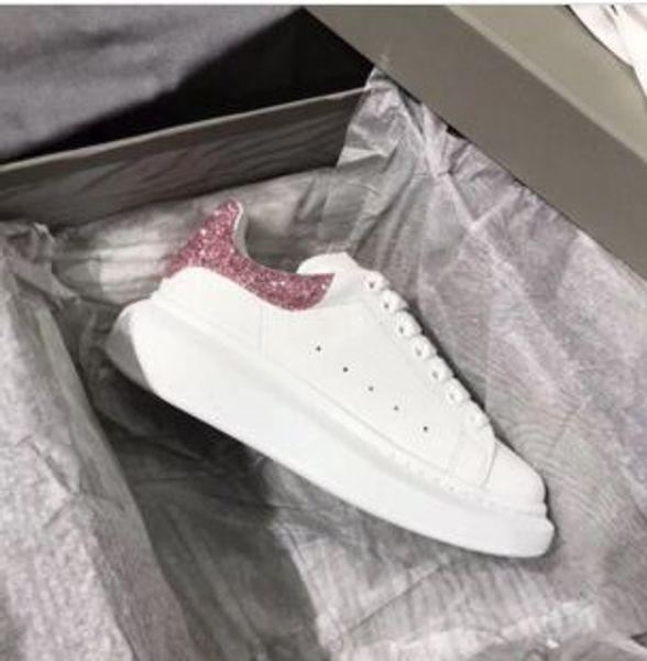 À la mode style Chaussures Designer Cuir Luxe Chaussures Casual Hommes Femmes Loisirs Entraîneur White Velvet Low Top Skate Shoe gfk002
