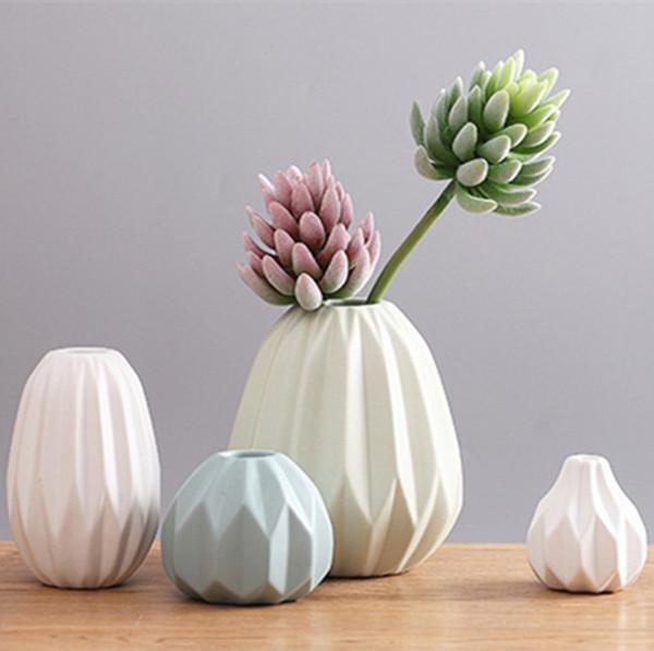 Vaso di fiori cinese in porcellana di alta qualità (1 set 4 pezzi) per la casa e l'ufficio