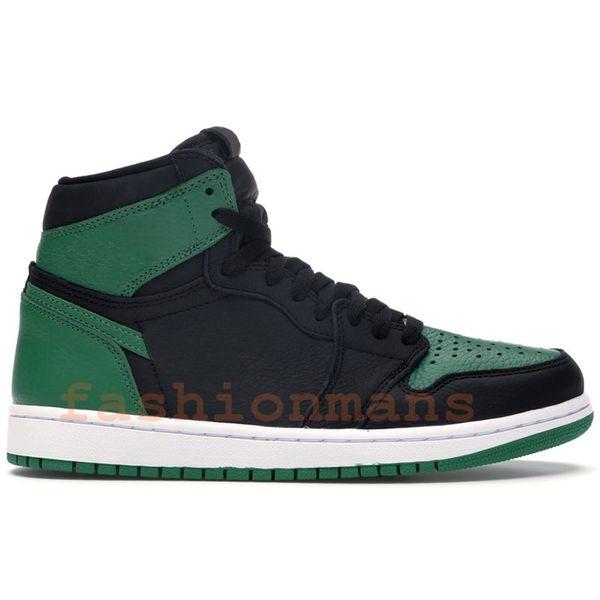 pine green black