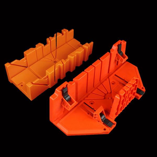 Многофункциональная 12/14-дюймовая АБС-пластика Mit Box 45/90 градусов Пила Руководство Деревообрабатывающая Mit Saw Box Шкаф Оранжевый