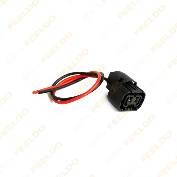 wholesale Car 5202 H16 2504 PS24W 5201 Bulbs Female Connector For Fog Lights Wiring Pigtail Harness #965