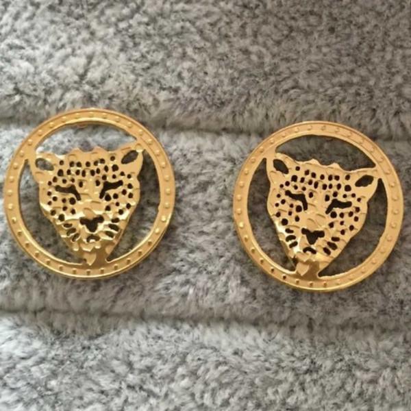 Orecchini in acciaio inossidabile di marca originale 2019 oro argento oro rosa placcato c lettera di moda designer orecchini per le donne all'ingrosso