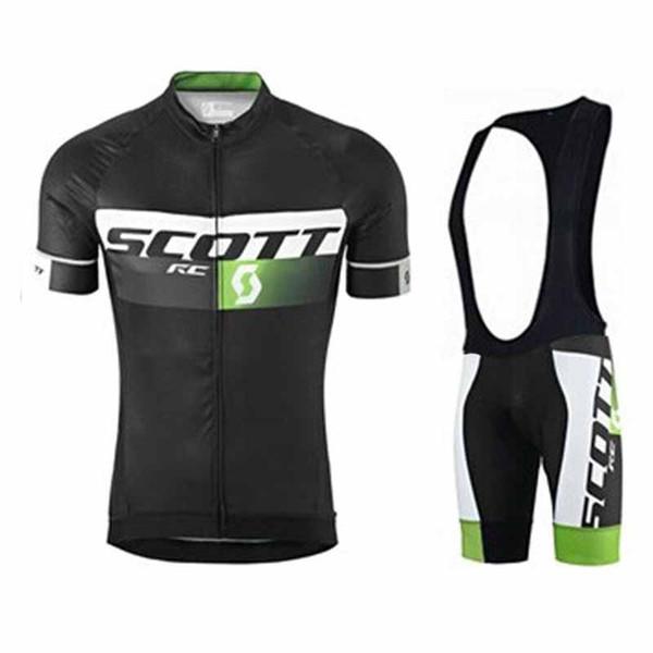 Maglia ciclismo SCOTT 2019 Tops Summer Racing Abbigliamento ciclismo Maglia manica corta da ciclista Camicia Maillot Ropa Ciclismo pantaloncini 0389