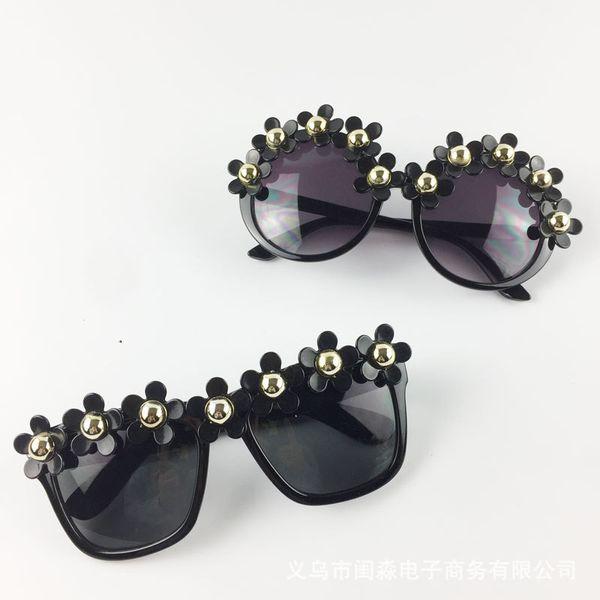87f20a9ea950 flower eyeglass frames Coupons - Flower Sunglasses Simulation Pearl  Eyeglass Ladies Manual Magazine Vacation Beach Multiple