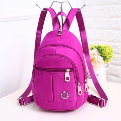 Fashion Shopping Small Women backpacks!All-match Lady Solid Travel backracks Versatile Multi-use Preppy style Oxford Backrucks