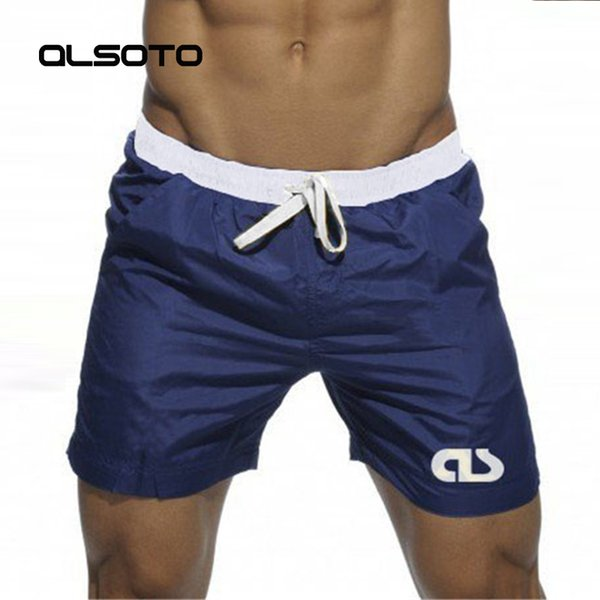 Swim Shorts For Man Beach Wear Bermuda Board Shorts Summer Sexy Surf Mayo Swimwear Bathing Quick Dry Gym Short De Bain Homme C19040801